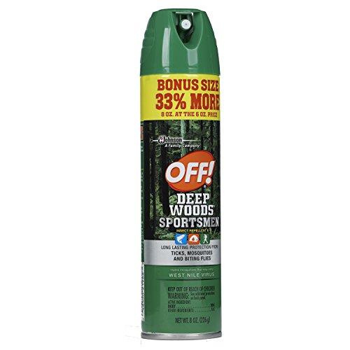 OFF! Deep Woods Sportsmen Insect Repellent, 8 oz.