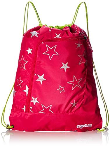 ergobag Gym Bag Sporttasche, Unisex Kinder S Rosa Sterne