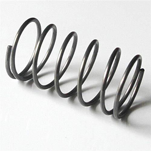 JINchao-Resorte de compresión, La alta precisión de metal de gran tamaño, grande Muelle de compresión, de 3 mm de diámetro del alambre x25 mm fuera del diámetro x (110-190) mm Longitud ,No se deforma