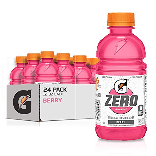 Gatorade Zero Sugar Thirst Quencher, Berry, 12 Ounce, 24 Count