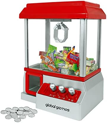 Global Gizmos Arcade Coin Pusher Game Machine ~ Novelty, Fairground ~ Kids, Family ~ 50130