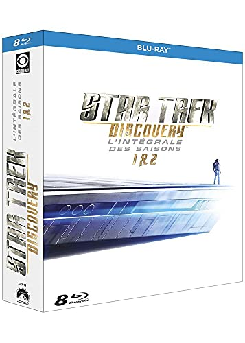 Coffret star trek : discovery, saisons 1 et 2