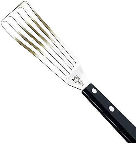 MIU France Large Stainless Steel Slotted Turner, 3 by 11-Inch