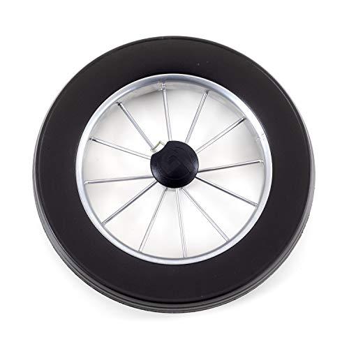 Andersen Roue pour Chariot de Courses de la série Royal, Ø 250 mm, Roue à Rayons métalliques