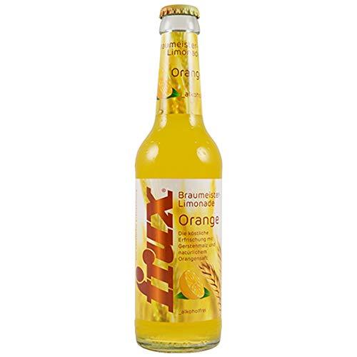 frux Braumeister-Limonade Orange - 24 x 330 ml Mehrweg incl. Pfand