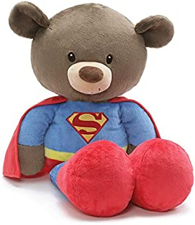 GUND Jumbo Fuzzy Superman, Plush Stuffed Bear, 25