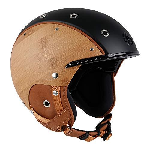 Bogner Ski-Helm Bamboo | Schwarz | Ski & Snowboard | Hochwertige Qualität