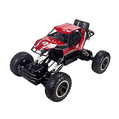 GDFDC Coche RC De Aleación 4WD,Vehículo RC Todoterreno De Alta Velocidad para Escalada,Buggy RC Bigfoot Monster,Amortiguador Independiente Y Camión RC Resistente A Caídas,Juguete De Regalo para Niños