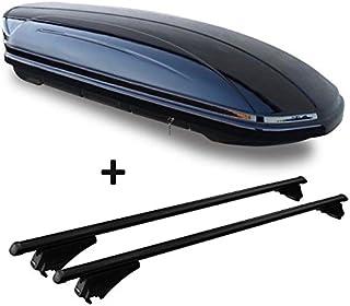 VDP Dachbox 460 Liter Relingtr/äger Alu kompatibel mit Hyundai Tucson JM 04-15 abschlie/ßbar