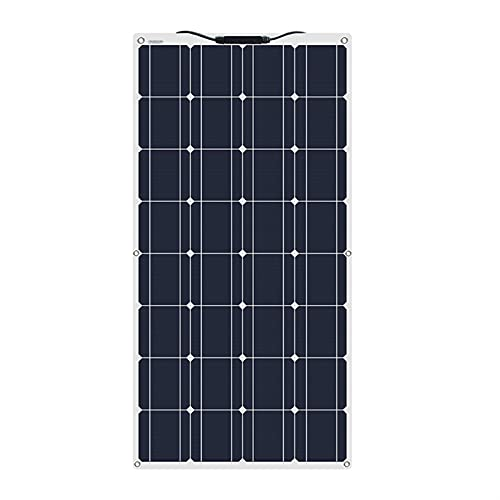 Placa Solar Kit De Panel Solar 100w 200w 300 W 400w 500w 600w Módulo Monocristalino Flexible Controlador Para Automóvil, Embarcaciones, Marina, Autocaravana, Caravanas, Batería De 12v 24v Kit Solar Pa