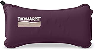 Therm-a-Rest Lumbar Travel Pillow, Eggplant