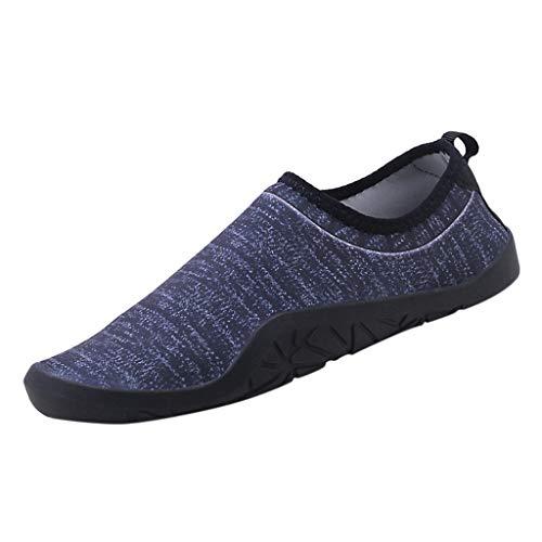 Fantastic Prices! Men's Water Shoes Beach Snorkeling Barefoot Aqua Socks Quick Dry Slip-on Anti-Slip...