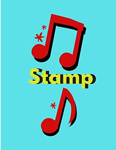 Stamp: Guitar music Tab Sheet Blank
