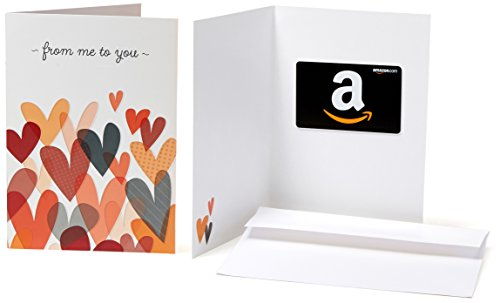 Amazon.com Gift Card in a Greeting Card (From Me to You Design)