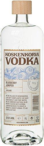Koskenkorva Vodka Blueberry Juniper Flavor Wodka (1 x 1 l)