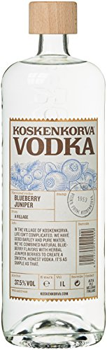 Koskenkorva Vodka Blueberry Juniper Flavor Wodka (1 x 1 l)