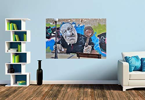 Premium Foto-Tapete Der Auktionator (versch. Größen) (Size S | 186 x 124 cm) Design-Tapete, Wand-Tapete, Wand-Dekoration, Photo-Tapete, Markenqualität von ERFURT