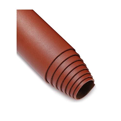 Tissu Simili Cuir Similicuir Matière Imitation Cuir Tissu PU Art Artisanat leathercloth - Tissu Faux Cuir - pour ameublement, canapé, chaises, 1,38 x 0,5 m (4,5 x 1,6 ft) Couleur Multiple