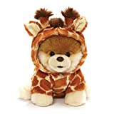 """GUND World's Cutest Dog Boo Giraffe Stuffed Animal Plush, Multicolor, 9"""""""