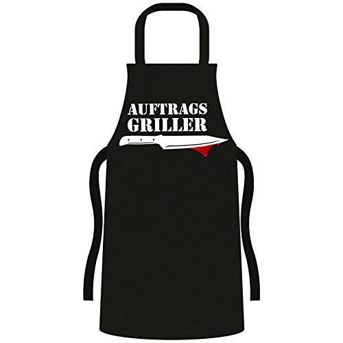 Coole Grill BBQ Schürze - lustige Fun Sprüche - Party Kochen Smoker Grillen 013 Auftragsgriller