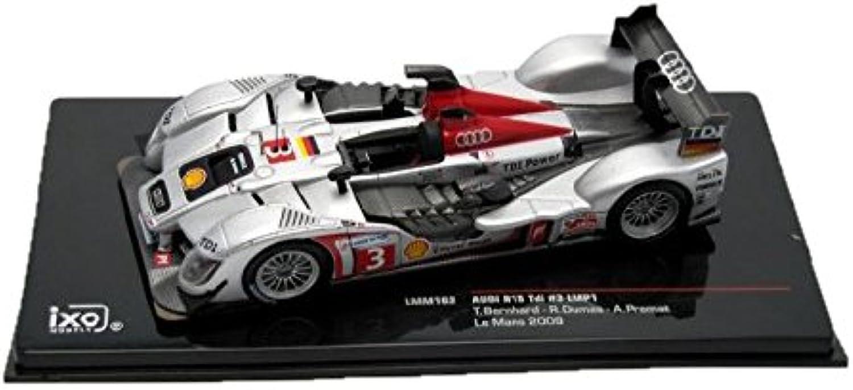Ixo LMM163 - Audi R15 TDI Nr.3 Bernhater-Dumas-Premat LMP1 13ter Le Mans 2009