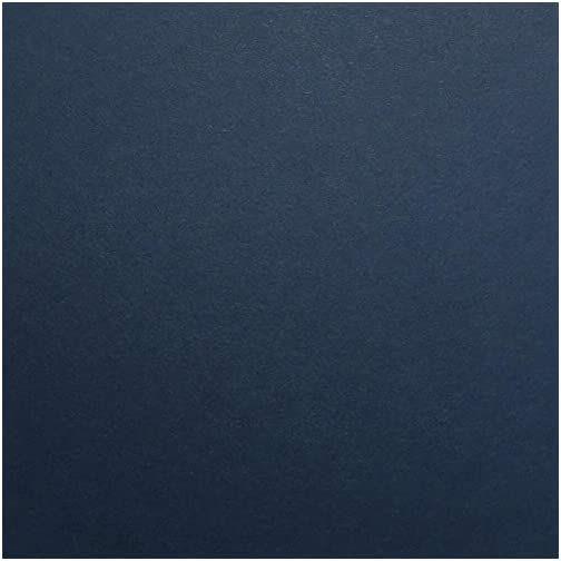 Nightshift Blue / DARK BLUE Cardstock Paper - 12 x 12 inch PREMIUM 80 LB. COVER from - 25 Sheets from Cardstock…  