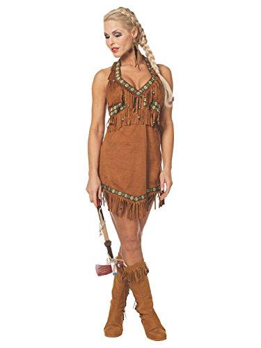 Wilbers EU 38/UK 10/12und US 6Damen Sexy Squaw Indianerin Kostüm