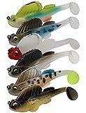 Avlcoaky Bass Fishing Jig Lure Bottom...
