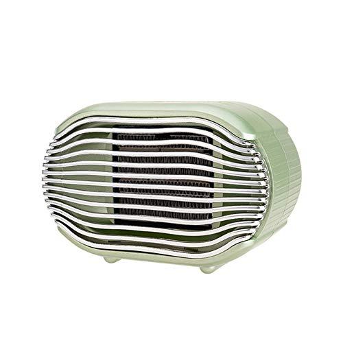 Cxry-Kit Petit radiateur Silencieux, radiateur électrique Neutre Vertical, pour Petit radiateur de Bureau.-Vert