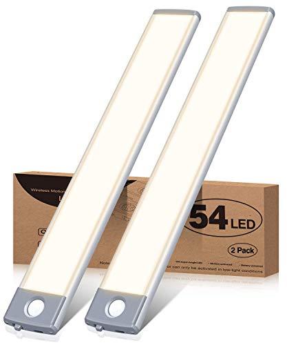 Under Cabinet Lighting 54 LED Motion Sensor Closet...