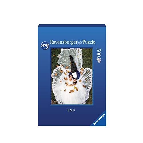 Ravensburger Fotopuzzle 49 bis 2000 Teile Puzzle zum Selbstgestalten - personalisierte Fotogeschenke für Kinder und Erwachsene (500 Teile in Blauer Pappschachtel - Hochformat)