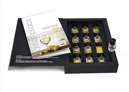 Weißwein Aroma Set - TASTERPLACE - Englische Version - Verkostungstool - für Sommeliers & Weinliebhaber