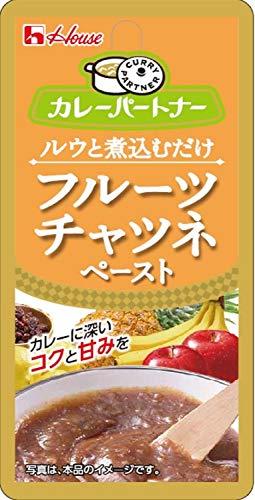 ハウス食品 カレーパートナー フルーツチャツネペースト 10個