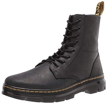 Dr Martens unisex adult Lace Fashion Boot Black Wyoming 11 Women 10 Men US