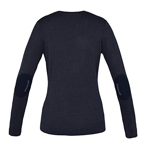 Kingsland gebreide trui voor dames Binky kleur rijkleding bruin choc