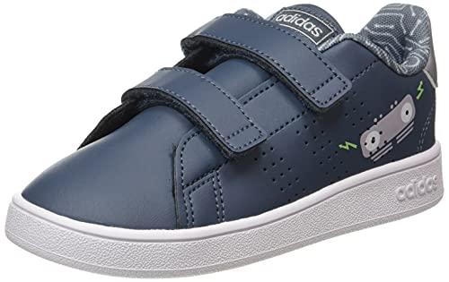 adidas Advantage I, Zapatillas de Tenis Unisex bebé, Azuleg Azuleg Griglo, 22 EU