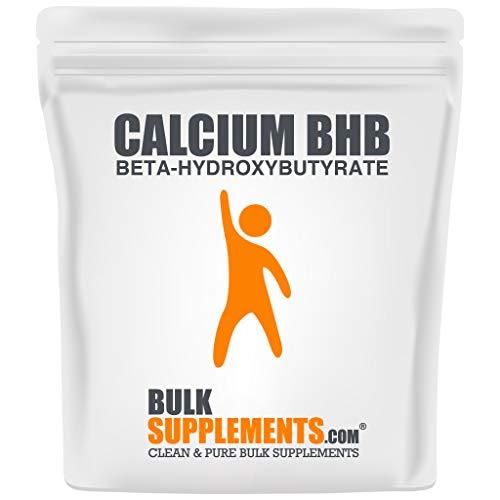 BulkSupplements.com Calcium BHB Powder - Keto Fuel - Ketone Salts -...
