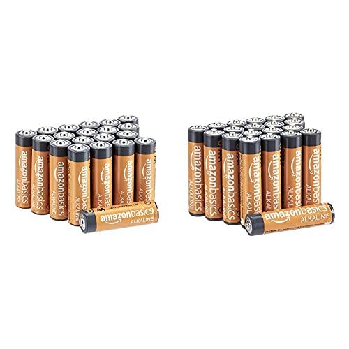 Amazon Basics Alkaline Battery Combo Pack