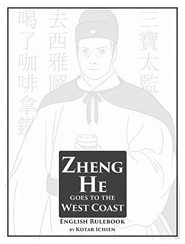Zheng He Goes to the West Coast: English Rulebook (English Edition)