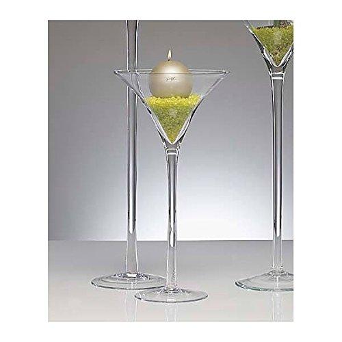 XXL Martiniglas Glas Kelch Riesenglas Glasvase Blumenvase Bodenvase riesig groß ca. 50 cm