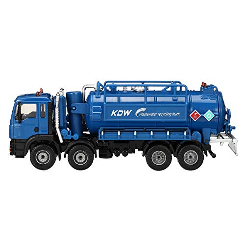 Jecenka 1:50 Maßstab Diecast Modell Vakuum Abwasser Abwasser Saugwagen Modell Spielzeug Versand Modell für Kinder Jungen