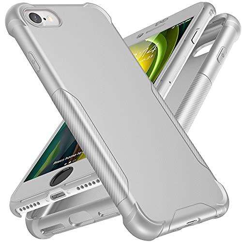 ORETECH Funda Carcasa Silicona Compatible con iPhone 7/8/SE 2020 4,7