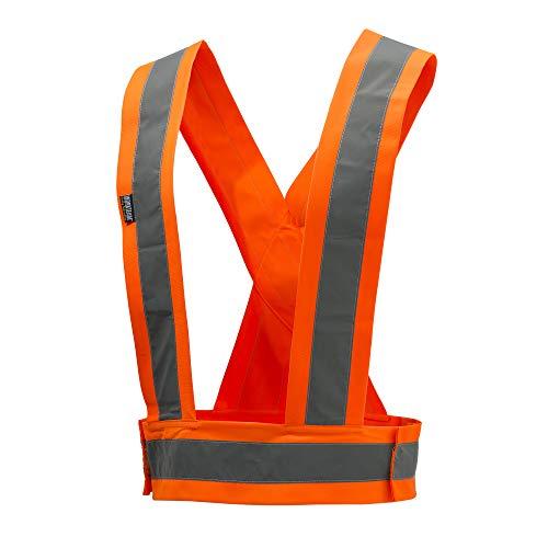 BERETTA Warnweste, Gilet ad Alta visibilità. Unisex-Adulto, Colore: Arancione, Taglia Unica