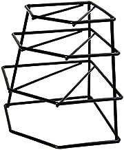 Black Corner Plate Rack by Delfinware