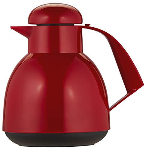 Helios Day Kunststoff-Isolierkanne, rot, 1 Liter