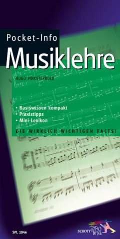 POCKET INFO - MUSIKLEHRE - arrangiert für Buch [Noten / Sheetmusic] Komponist: PINKSTERBOER HUGO