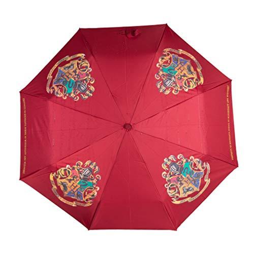 Paladone Parapluie Poudlard à Changement de Couleur – Produit sous Licence Officielle Harry Potter