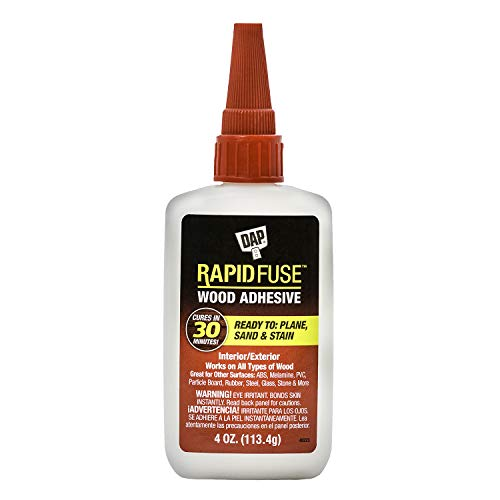 DAP 00157 4 oz Rapid Fuse Fast Curing Wood Adhesive