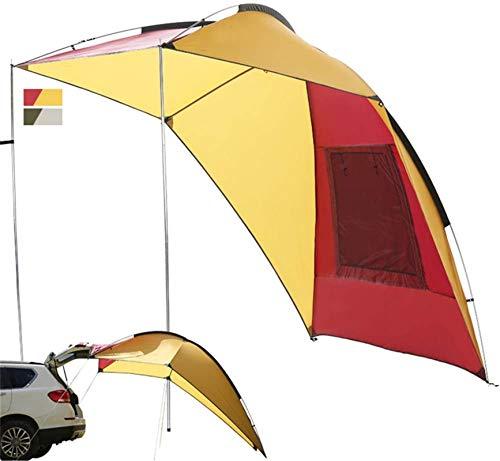 Tiendas de campaña para acampar Toldo del remolque al aire libre, lado de coche impermeable portátil, toldo del campamento de la familia de verano, adecuado para la playa, suv, camping, actividades