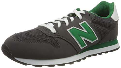 New Balance GM500TRW, Trail Running Shoe Hombre, Gris Verde, 32 EU